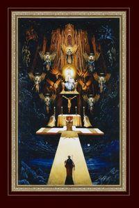 Художник Пацюра А.А. Откровение Иоанна богослова на острове Патмос