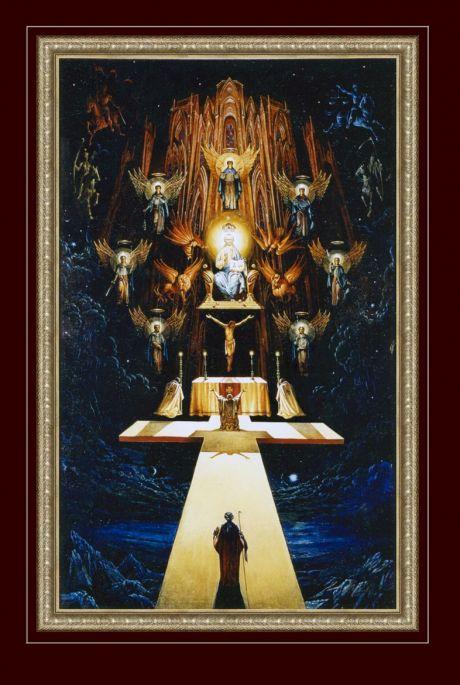 Художник Пацюра Александр Антонович Название картины Откровение Иоанна богослова на острове Патмос