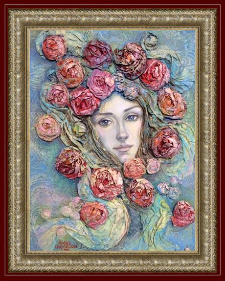 Художник Островская Алена Антоновна Название картины Весна