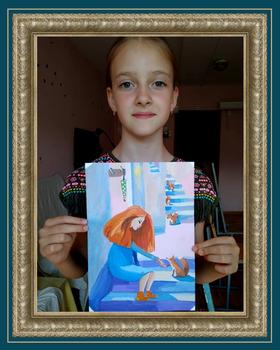 Ученик художника Кистанова Елизавета Летнее утро