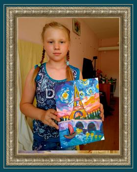 Ученик художника Колесникова Алёна Париж